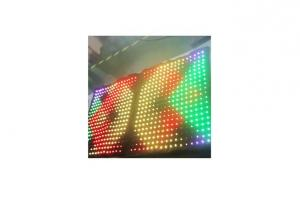 China Madrix Compatible LED Flexible Curtain In Nightclub ,Disco For Effect And Video