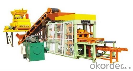 PAVER BLock Machine QT4-15B