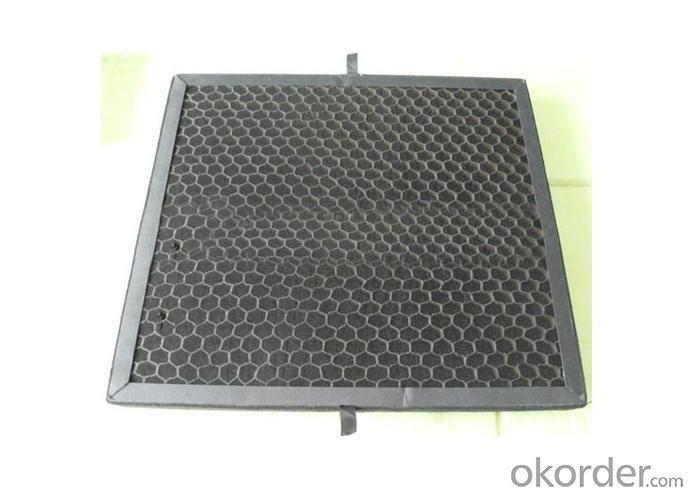 Active Carbon Filter Media For Vacuum Vleaner Parts
