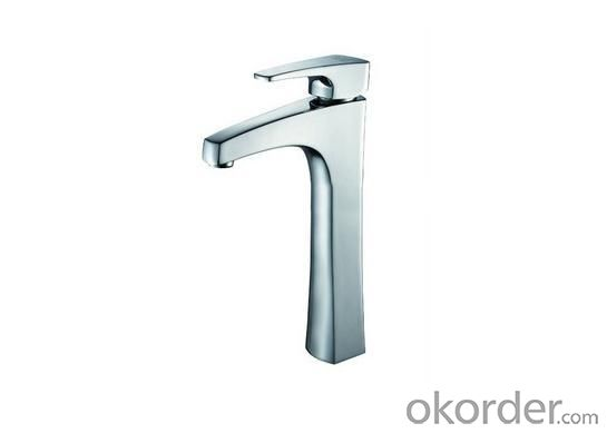Elegant Single High Basin Faucet Chrome G12307