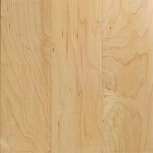 Hand Scraped Solid Wood Chinese Maple Flooring