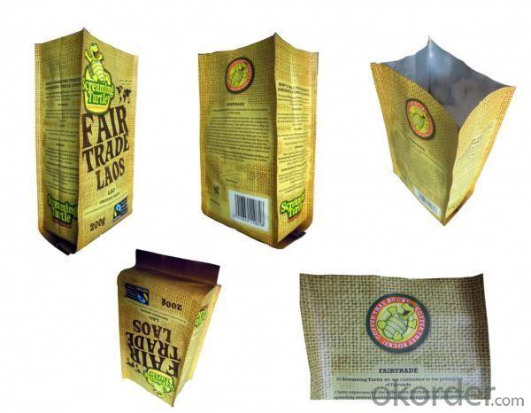 Kraft Laminated  Food Bag