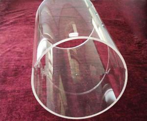 Polished Quartz Tube with Large Diameter