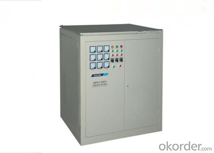 SBW-F-50KVA Series Voltage Regulator