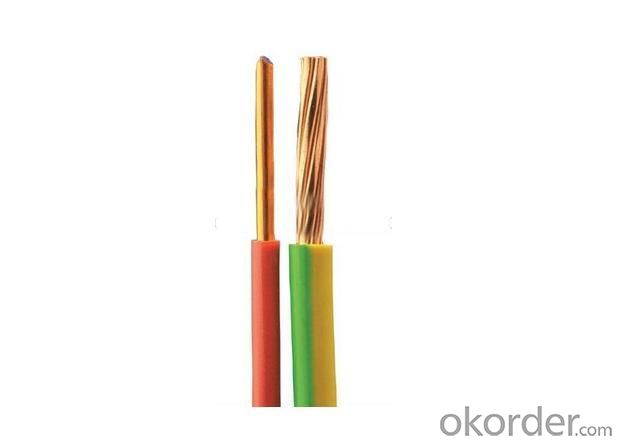 Electrical Cable Wire H07V-R H07V-U 2.5mm