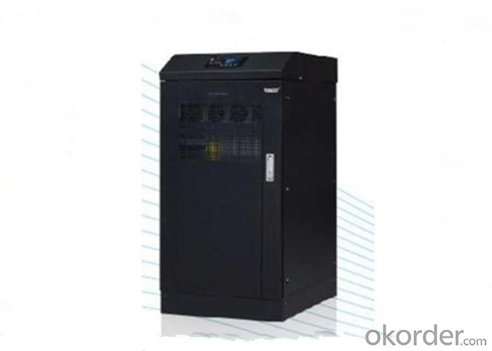 Three Phase Out Internal Battery True on Line Double Convertion 6KVA UPS