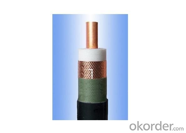 Radiation Leaky Coaxial Feeder Cable 75 Ohm 1-1/4
