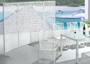 Aluminum Rattan Dinging Table Set DT034