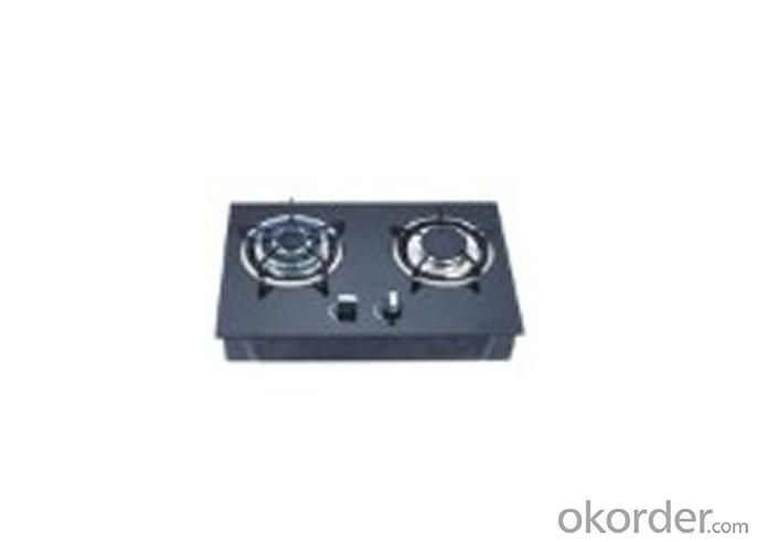 Glass Panel Table 2 Big Burner Gas Hob JW-TG2007