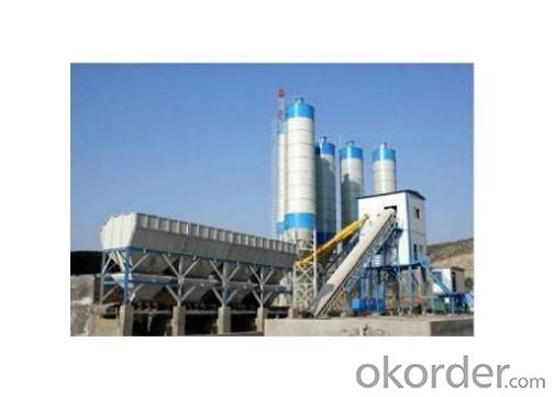 Stationary Concrete Mixing Plant HZS120 120m3/h