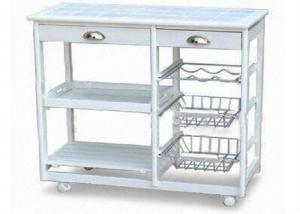 Kitchen Serving Trolley