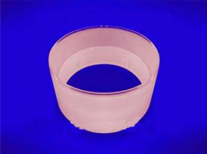 Quartz Clear Glass Flange