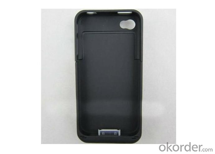 Ultra-Thin External Battery Case 2000MAh for iPhone 4 4S Power Pack KWB004