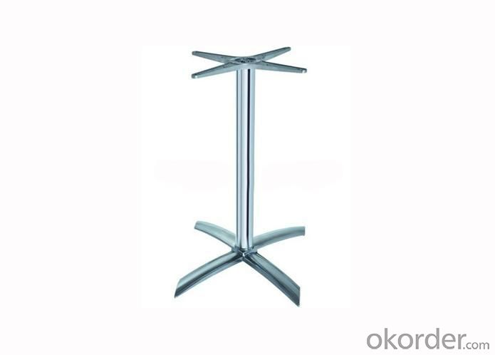 Modern Chromed Table Base