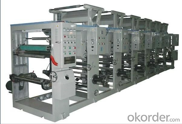 Type without Shaft Gravure Printing Machine