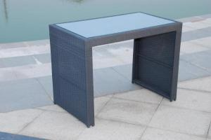 Aluminium Rattan Bar Set