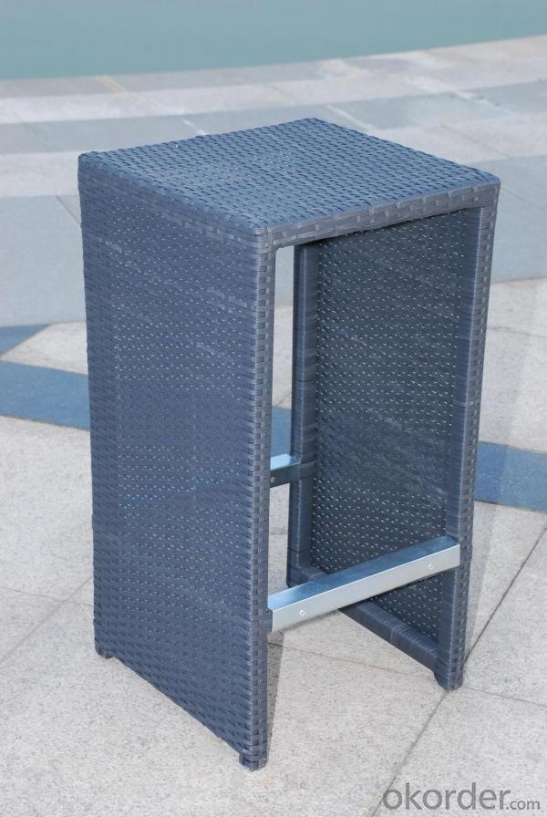 Aluminium Rattan Bar Set