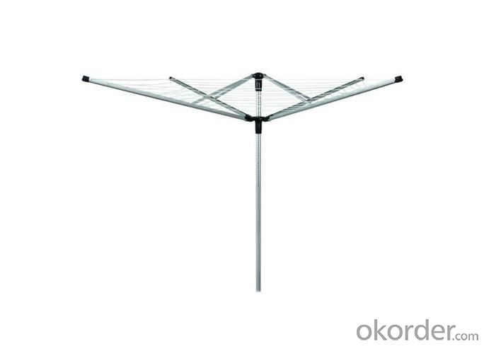 Aluminium Rotary Airer Clohes Dryer Stand with 4 Arms