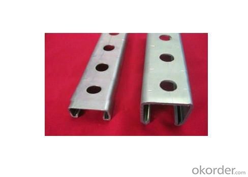 Perforated Gdg Steel Strut Channel