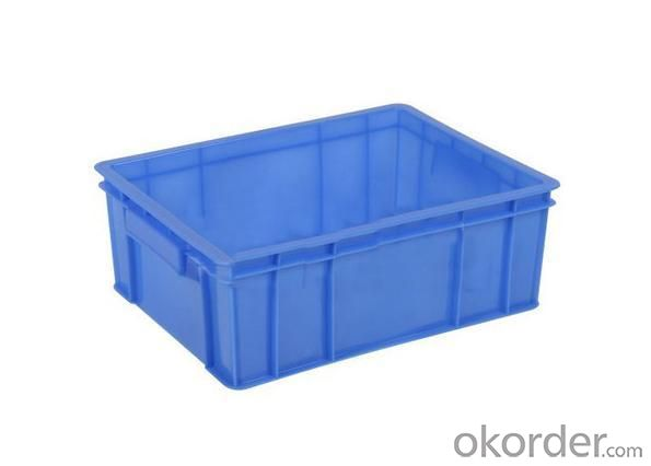 Plastic Solid Crate 3 with 100% Virgin PP