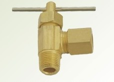 Brass Angel Needle Valve