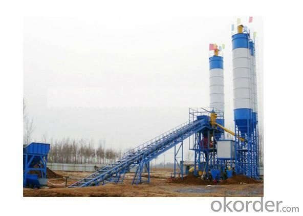 Mixed Concrete Batching Plant HMBP-MD30 30 TPH