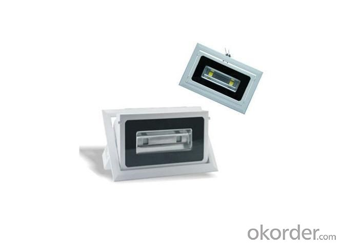 Rectangular LED Flood Light 10W IP65 Bridgelux LEDs