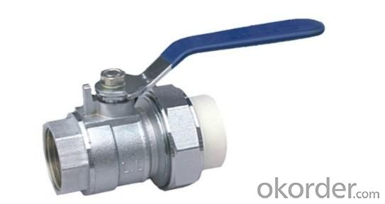 PPR Brass Female Ball Union Valve