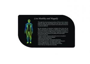 Negative Ion Energy Card