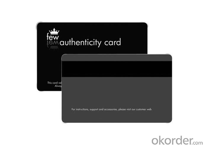 PVC Card from Direct Manufacturer