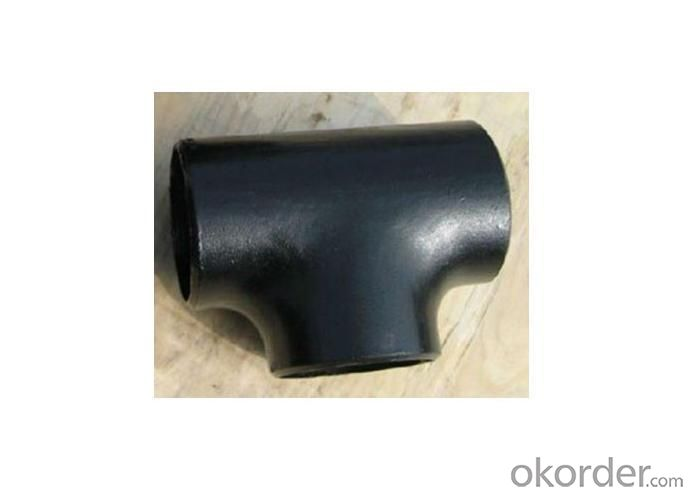 Carbon Steel ASME WPB Butt welded Tee A234 DN15-DN1200