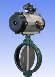 Cast Iron Pneumatic Butterfly Valve