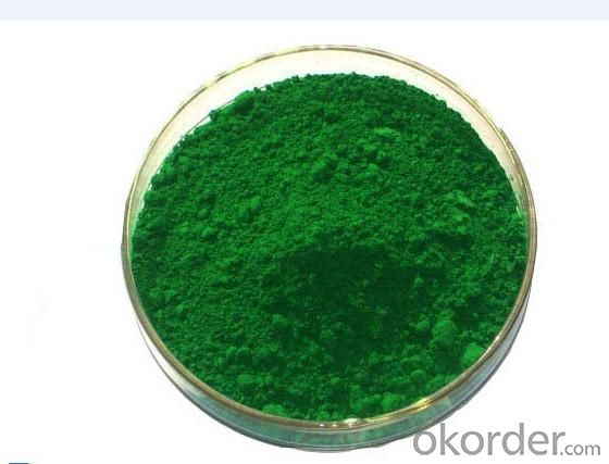 Inorganic Green Pigments Chrome Oxide Green Abrasive Grade