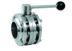 Stainless Steel Sanitary Butterfly Valve