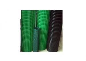 Green PVC Coated Welded Mesh for Fencing