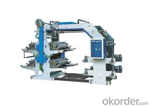 4 Letterpress Flexogarph Printing Machine