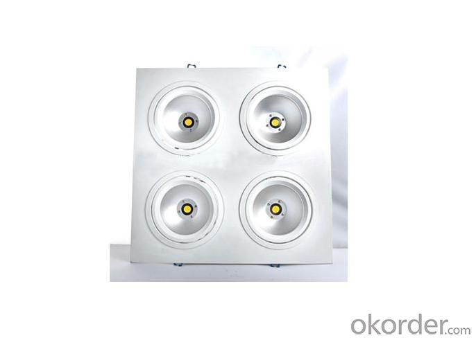LED Down Light 4X10 Watt 4X5 Watt