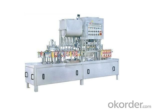 Filling Sealing Machine CCS-2 with Semi-automatic Stand up Bag