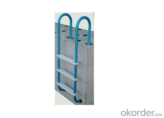 Blue Aluminum Ladder
