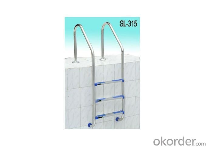 Stainless Steel Ladder with Standard Design