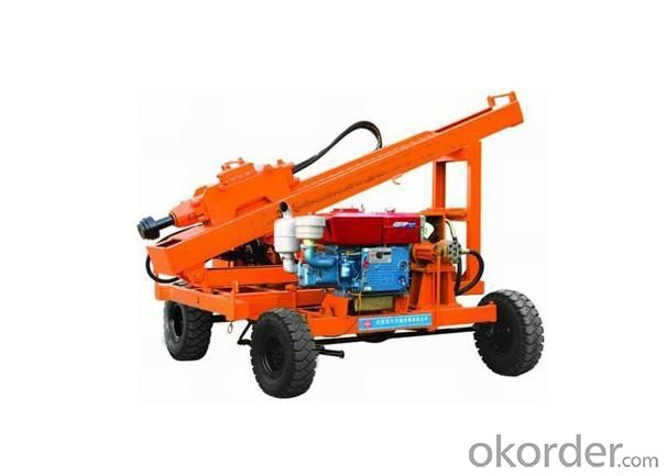 Fluid Drive Pile Driving Machine
