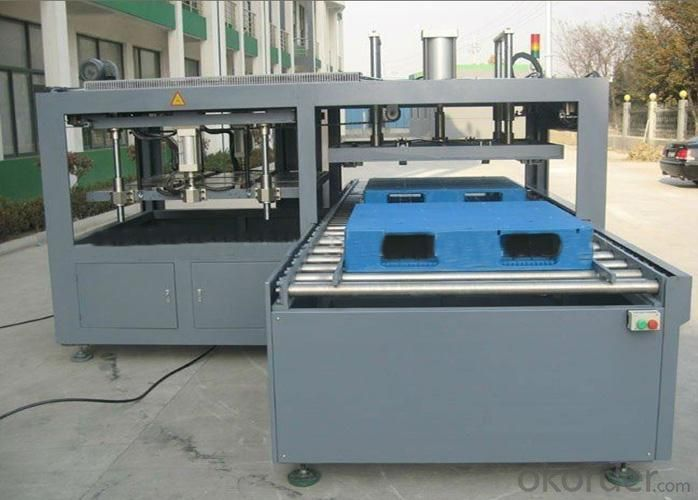 Welding Machine with Plastic Pallet Infrared Feature