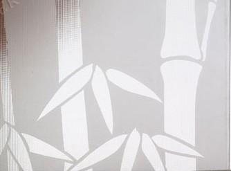 Clear Pattern Glass RH-5