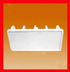 Factory Direct Wholesale White Ceramic Napkin Holder Design