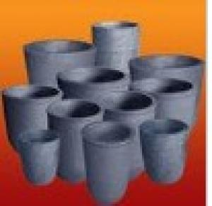 Graphite Crucible Black