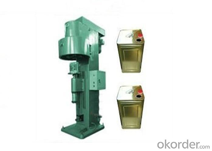 Pneumatic Can Seaming Machine for Tin Cans