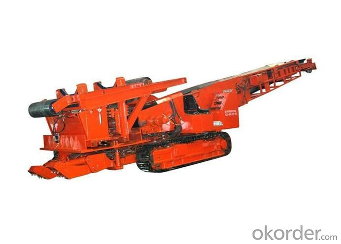 Tunnel Pushfiller Used in Coal Mine