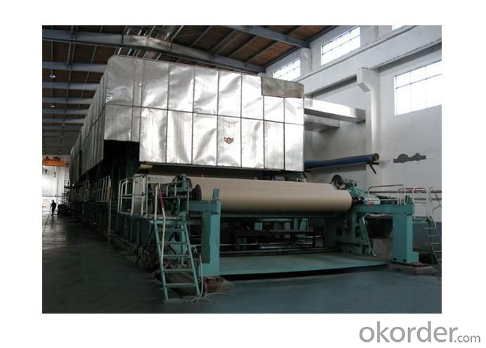 Duplex Paper Making Machinery 2400mm