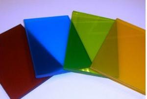Flat Laminated Colored Glass