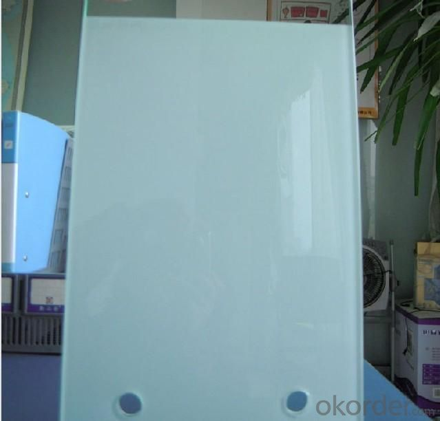 Milky Laminated Glass